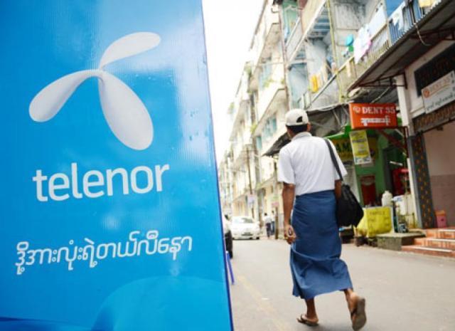 Telenor Myanmar business