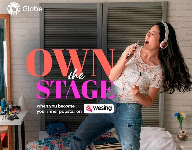 Globe Telecom network campaign