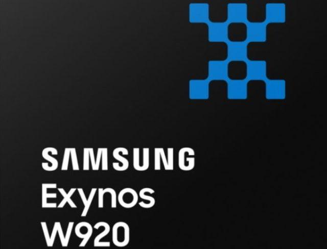 Samsung wearable processor Exynos W920