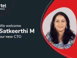 Airtel Business Chief Technology Officer Satkeerthi M